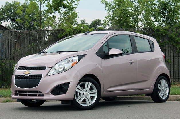 2013 Chevrolet Spark in Techno Pink | Ugliest Car Colors