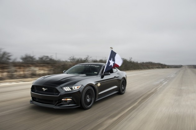 2015 HPE700 Supercharged Mustang 195 MPH