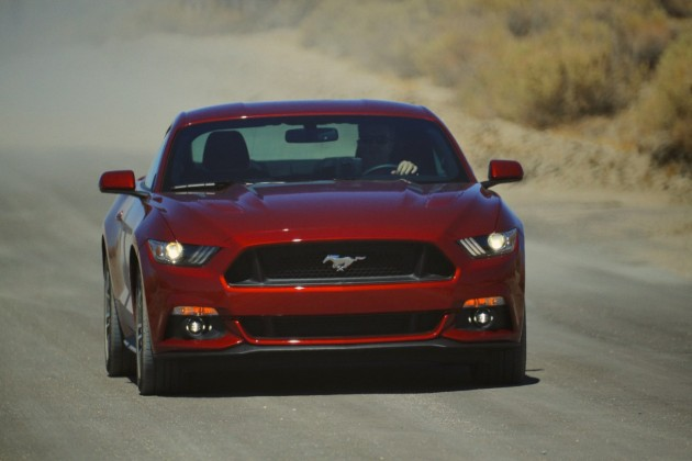 2015 Ford Mustang GT NHTSA Five-Star Overall Vehicle Score