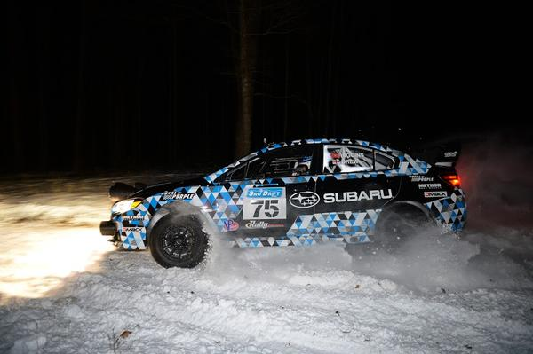 The 2015 Subaru WRX STI rally car debuted over the weekend at the Sno*Drift Rally.