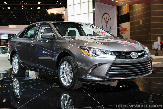 three toyota vehicles named best family cars of 2015 by kbb the news wheel. Black Bedroom Furniture Sets. Home Design Ideas
