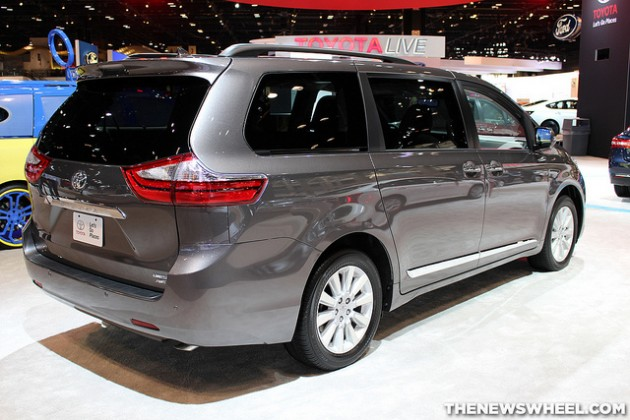 Toyota Fort Worth >> 2015 Toyota Sienna Named Family Car and Minivan of Texas ...