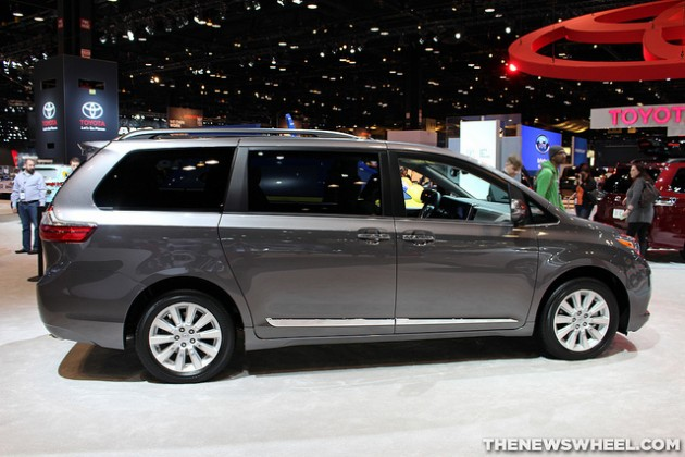 2015 Toyota Sienna most american-made car