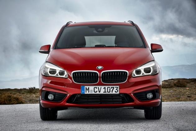 2016 BMW 2-Series Gran Tourer  Front grille