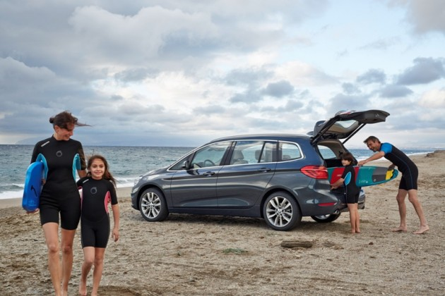 2016 BMW 2-Series Gran Tourer beach exterior hatchback