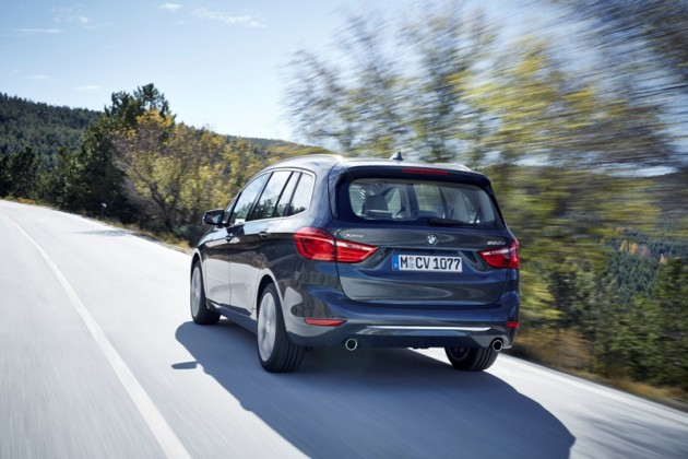 2016 BMW 2-Series Gran Tourer rear
