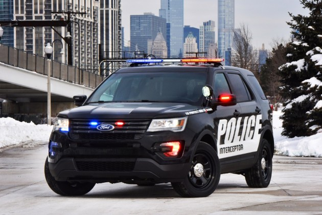 2016 Ford Police Interceptor Utility (5)