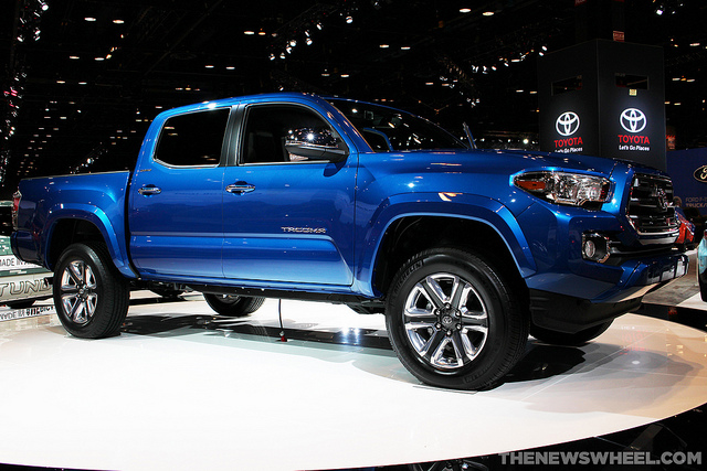 2016 toyota tacoma pricing information leaked the news wheel. Black Bedroom Furniture Sets. Home Design Ideas
