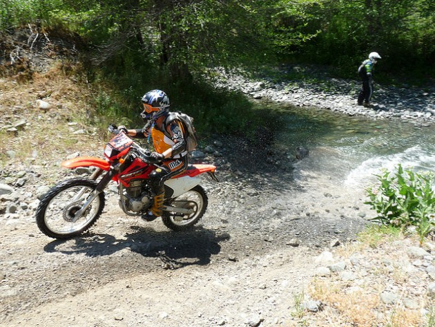 Dirtbike trail