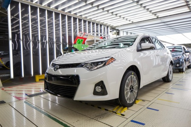 500,000th Mississippi-Built Corolla