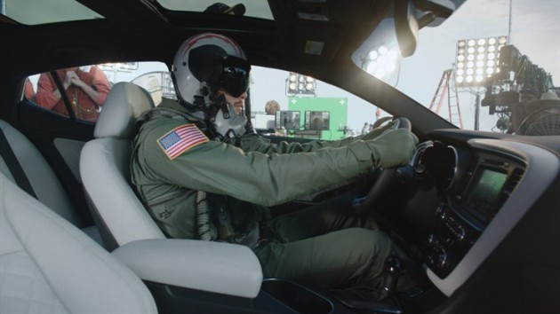 "Blake Griffin stars in the new Kia Optima ad ""Fighter Pilot"""