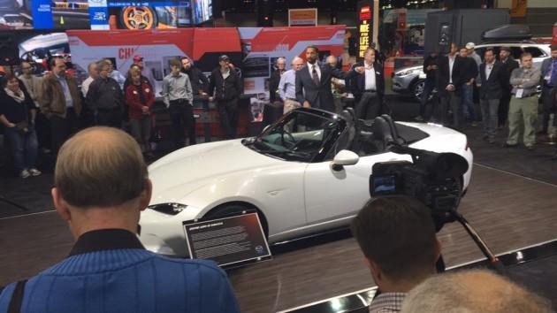 Accessories Concept of the MX-5 Miata at Chicago Auto Show