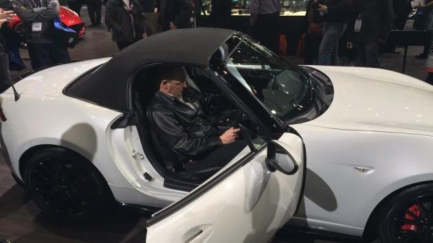 Accessories Concept of the MX-5 Miata at Chicago Auto Show Inside