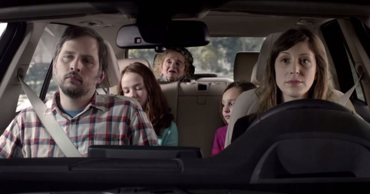 Awkward Dirty Grandma Commercial for BMW X5 Leather 2