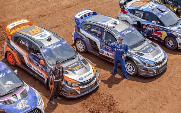Bucky Lasek and Sverre Isachsen have resigned with Subaru Rally Team USA
