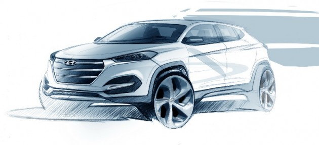 Does This Sketch Reveal the New Design of the Hyundai Tuscon