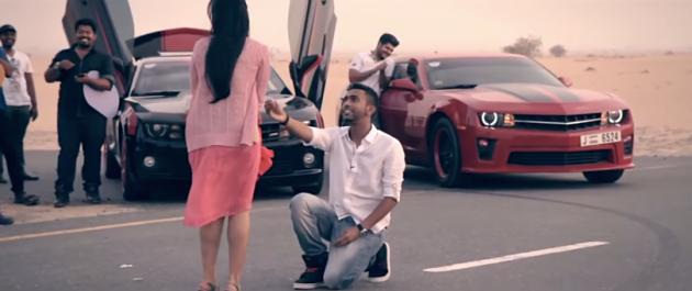 Dubai Camaro proposal