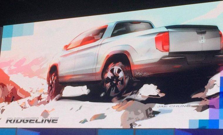 Honda Ridgeline Concept Sketch 2