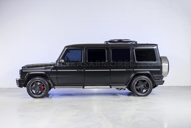 Inkas Armored Mercedes-Benz G63 AMG