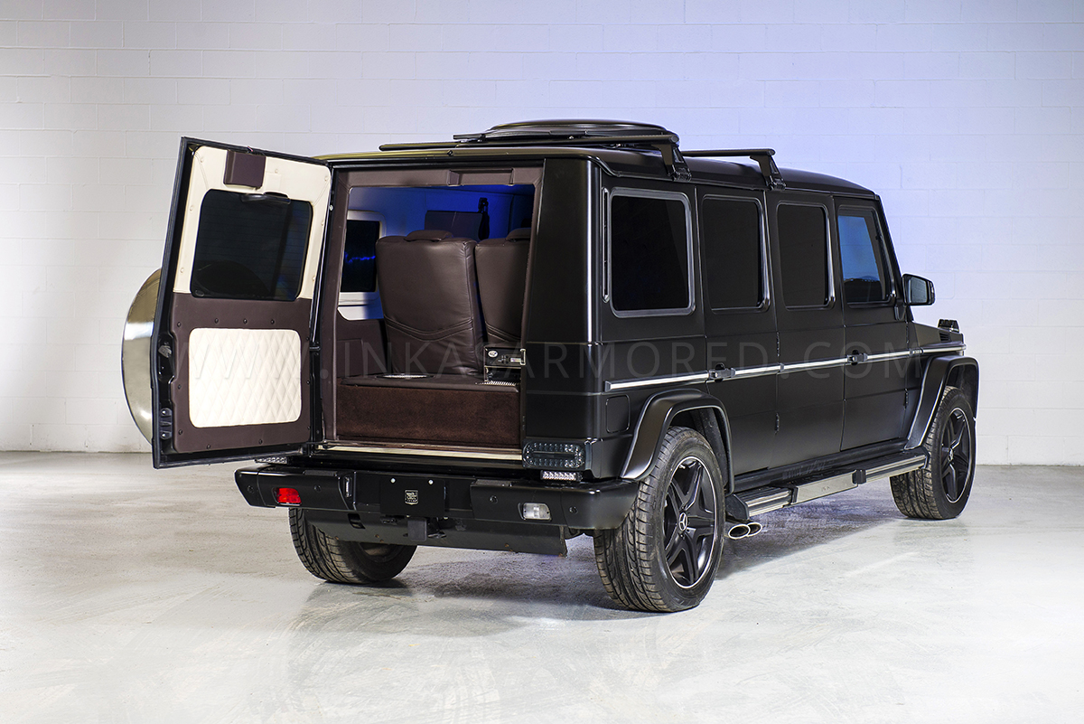 inkas armored mercedes benz g63 amg selling for 1m the news wheel