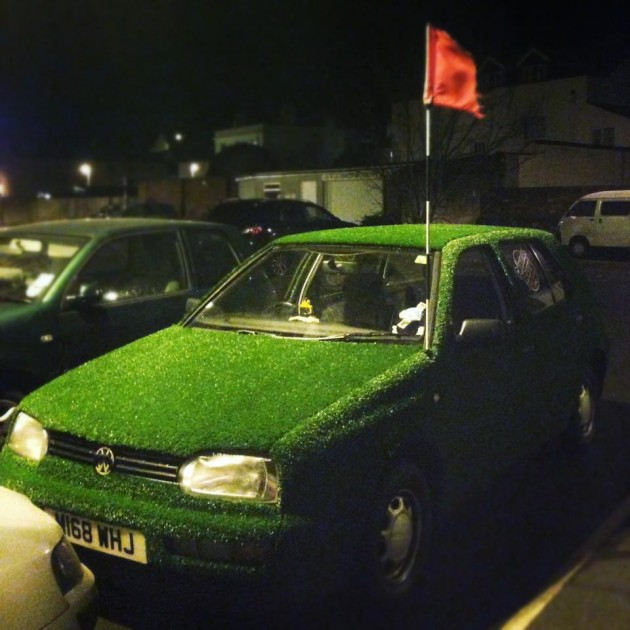 Astroturf Volkswagen Golf