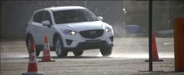 Mazda Mega Bloks commercial Does This Building Blocks Family Fall Apart over the 2015 Mazda CX-5