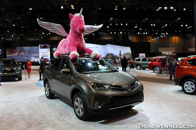 Toyota RAV4 unicorn