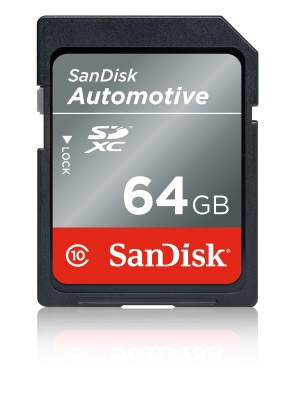 SanDisk_Automotive_SD_Card Automotive Flash Storage