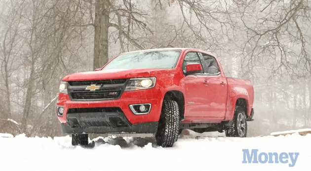 A 2015 Chevy Colorado Z71 | Kelley Blue Book Five-Year Cost to Own Awards