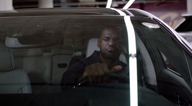 LeBron James frowns at the idea of parking his luxury K900 next to other cars