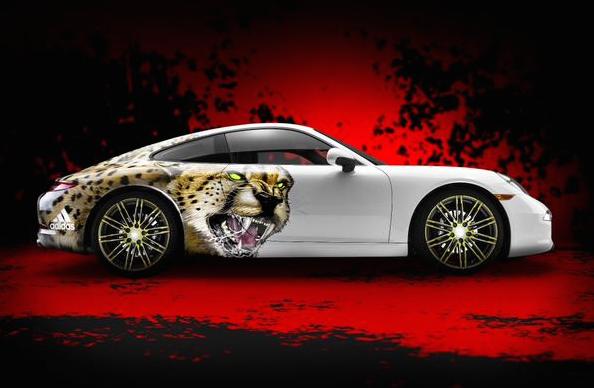 Adidas Giving Fastest NFL Prospects a Custom Porsche 911 Carrera