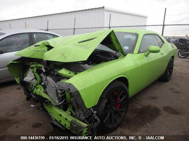 Denver Car Auction >> First Wrecked Challenger SRT Hellcat Goes to Auction - The News Wheel