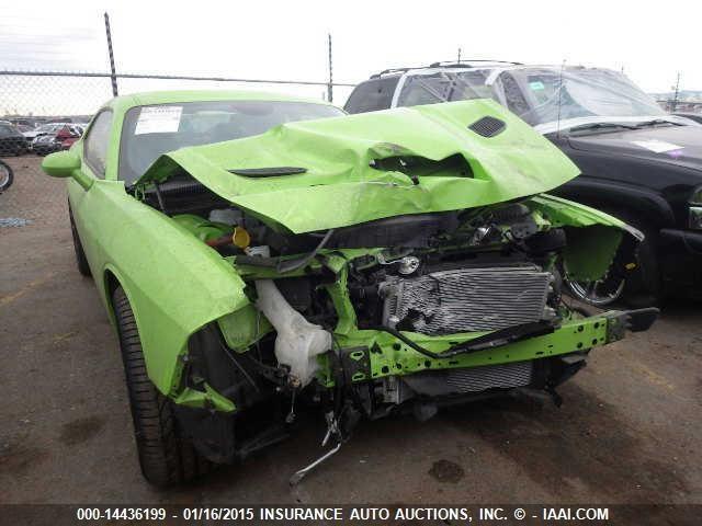 First Wrecked Challenger SRT Hellcat