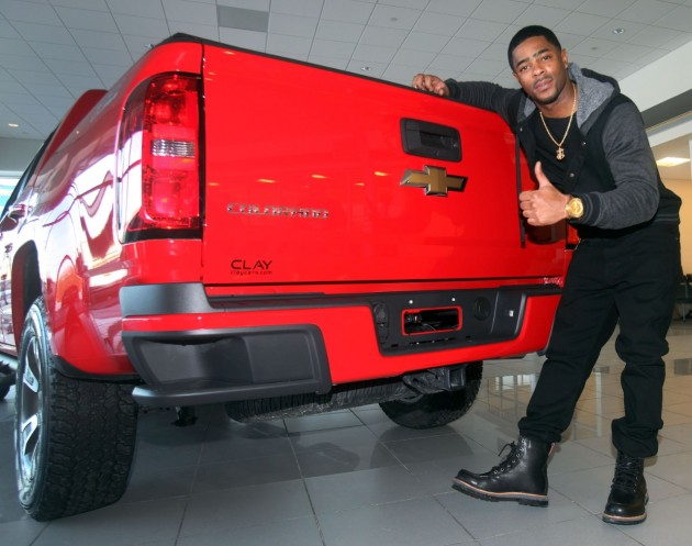 Chevrolet gives 2015 Colorado to Malcolm Butler