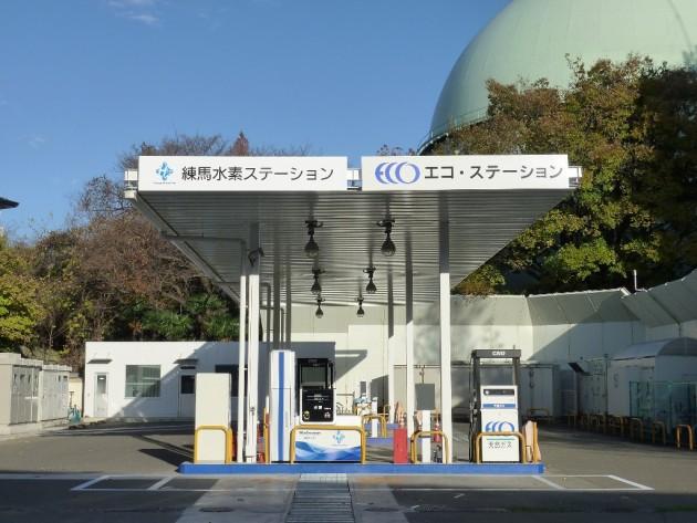 Nissan Hydrogen Infrastructure