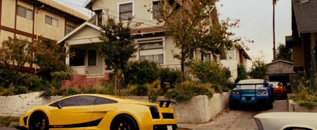 Furious 7 Lamborghini Gallardo