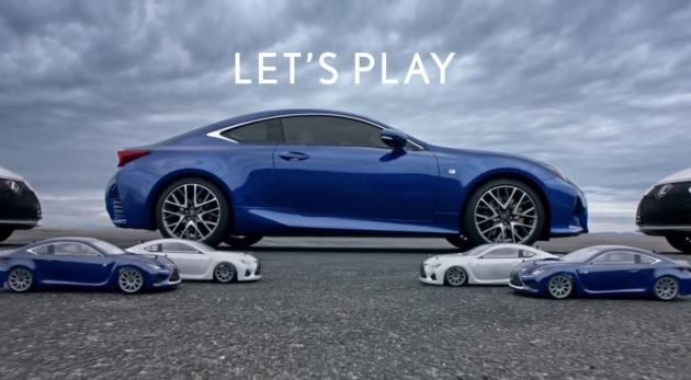 Lexus RC350 Super Bowl Ad