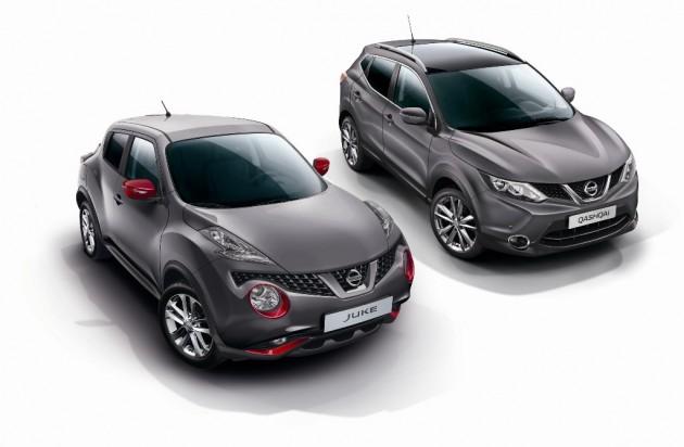Design Edition Nissan Juke and Qasqai
