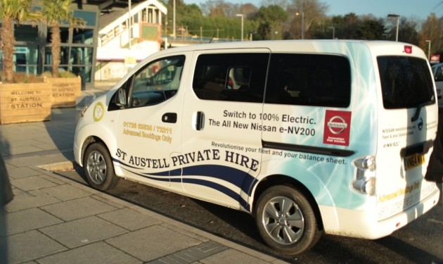 C&C Taxis Nissan e-NV200