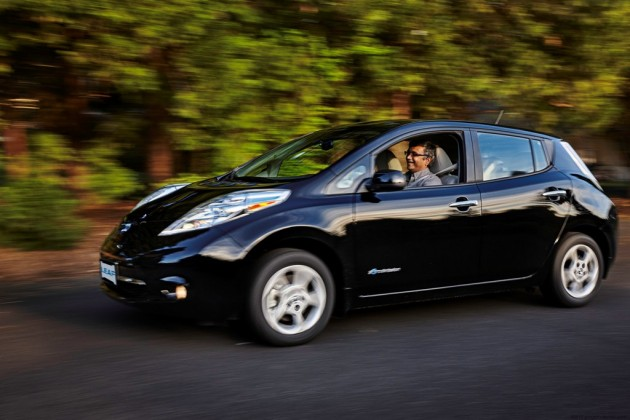 75,000th Nissan LEAF