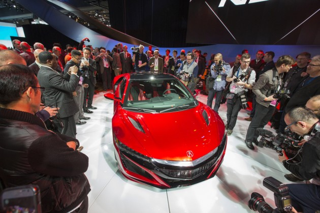Acura NSX Reveal at 2015 NAIAS