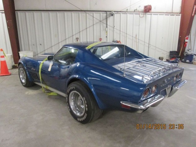Terry Dietrich's stolen 1972 Corvette Stingray