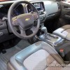2015 Chevy Colorado Z71 Trail Boss Edition at Cleveland Auto Show interior