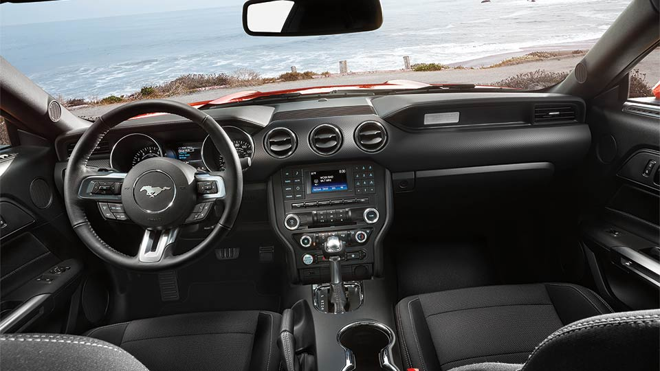 2015 mustang gt interior the news wheel. Black Bedroom Furniture Sets. Home Design Ideas