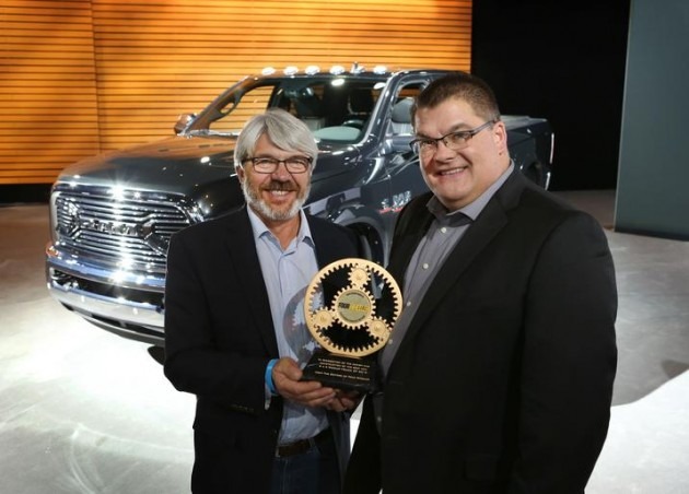 The 2015 Ram Power Wagon was named Four Wheeler's 2015 Pickup Truck of the Year