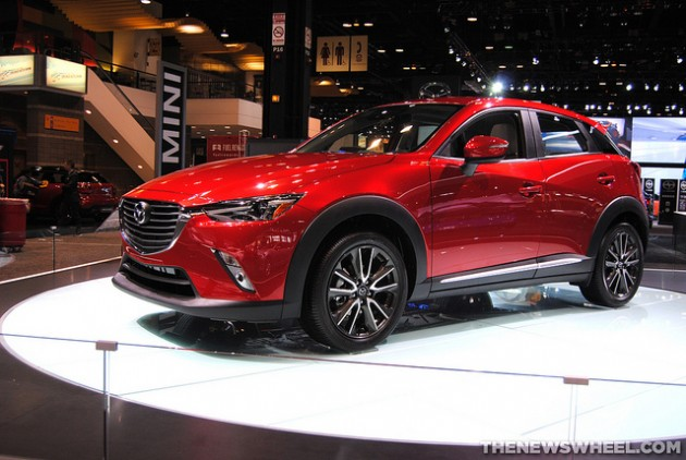 2016 Mazda CX-3 at Chicago Auto Show Japan Diesel