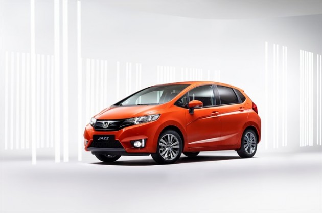 The all-new 2015 Honda Jazz