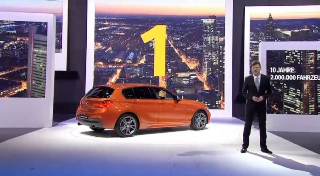 BMW 1 Series M135i at Geneva Motor Show