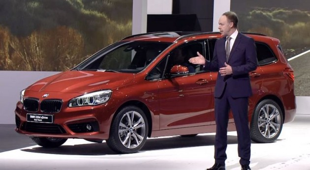 BMW 2 Series Gran Tourer at Geneva Motor Show