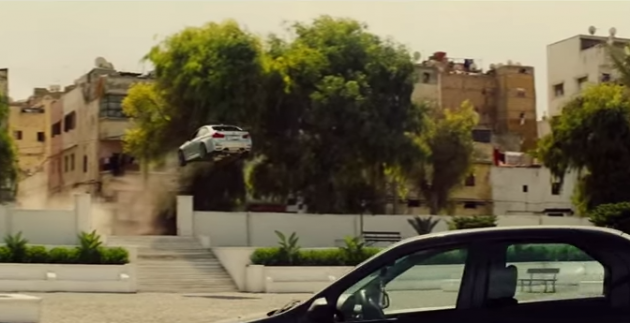 BMW M3 Mission Impossible